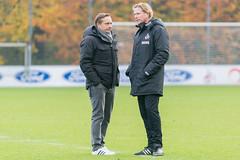 Analyse des Führungsduo im Training Markus Gisdol und Horst Heldt