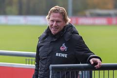 Der neue Cheftrainer Markus Gisdol repräsentiert ab sofort den ersten Fussball Club Köln