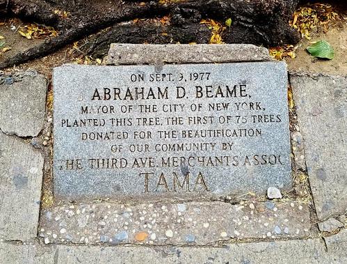 Abe Beame 3rd Avenue near East 23rd Street