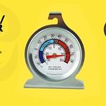 ตัววัดอุณหภูมิตู่เย็น ตู้แช่แบบเข็ม