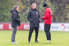 Markus Gisdol soll den FC aus dem Keller bringen und greift sich die Führungsspieler zum Austausch