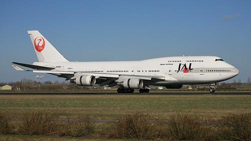 JA8080, Boeing 747-446 Japan Airlines @ Amsterdam-Schiphol AMS EHAM