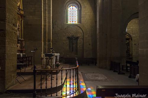 Iglesia del Monasterio benedictino de San Pedro el Viejo de Huesca