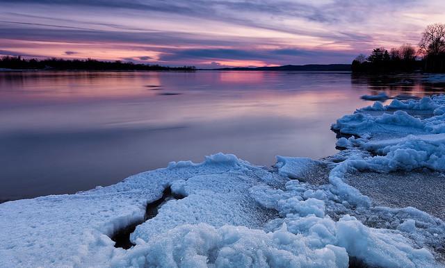 La fonte des glaces