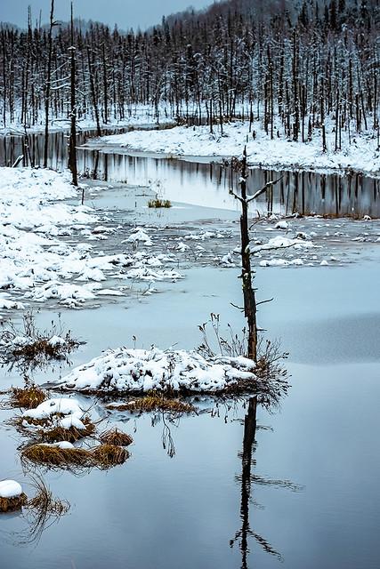 Prélude hivernal de la rivière Valin
