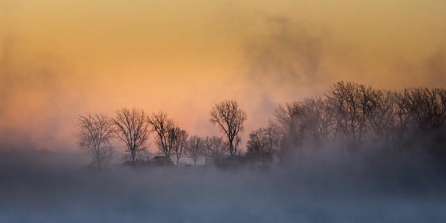 La froideur de ce matin