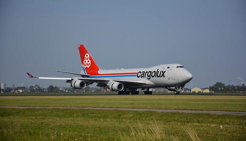 Boeing 747-4HAERF - Cargolux Airlines International
