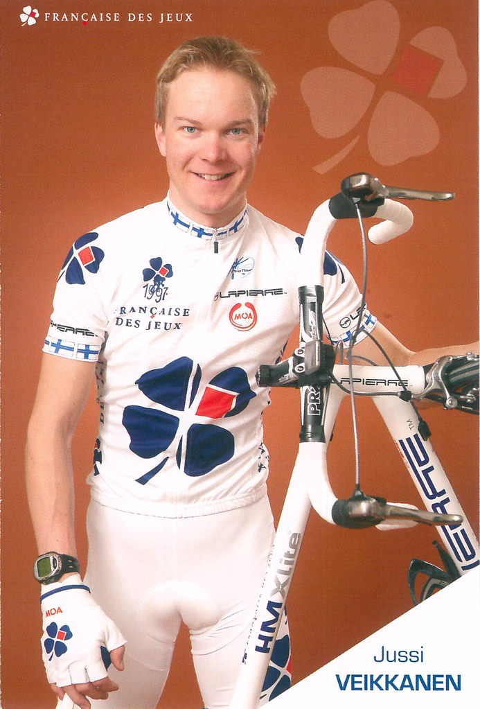 Jussi Veikkanen - Française des Jeux 2008
