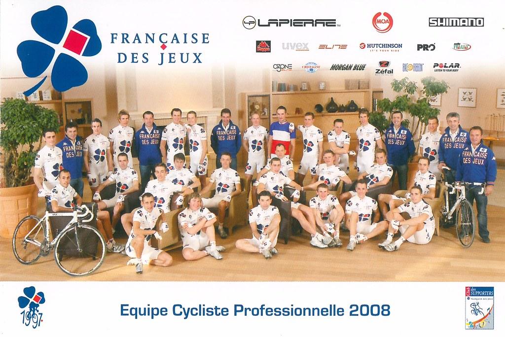 Française des Jeux  - Equipe Cycliste Professionnelle 2008