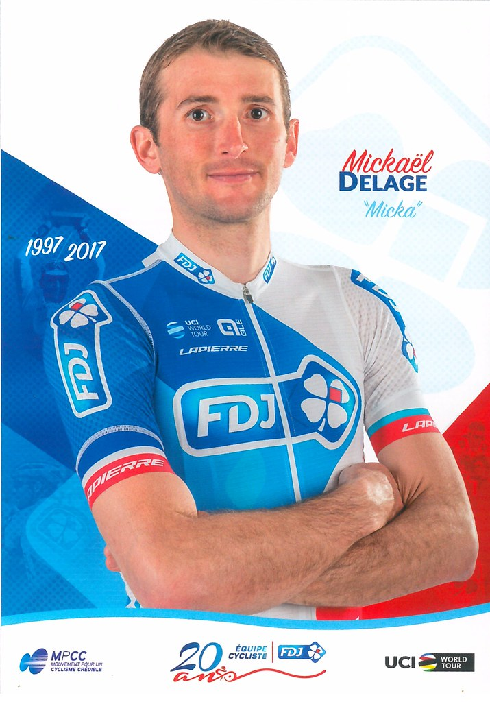Mickael Delage - FDJ 2017