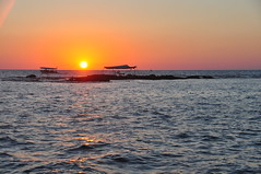 coucher du soleil sur la Mediterrannée, Sour (Tyr)