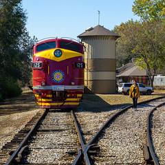 Texas State Railroad No.125