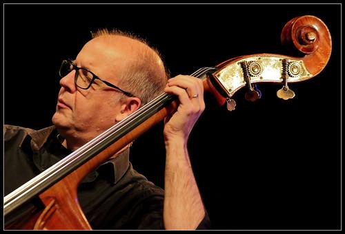 Bart De Nolf (cb) Johan Clement Trio featuring Deborah Carter, Jazz al'trappe 04/10/19, Centre culturel d'Ans, Belgium