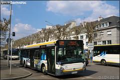 Heuliez Bus GX 337 – RD Lorient Agglomération (RATP Dev)  / CTRL (Compagnie de Transport de la Région Lorientaise) n°414