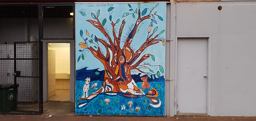 Mural by Margaret River Montessori School, Upper Primary - May 2016