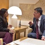 22-11-2019 Karima Benyaich Ambaixadora del Regne del Marroc a Espanya