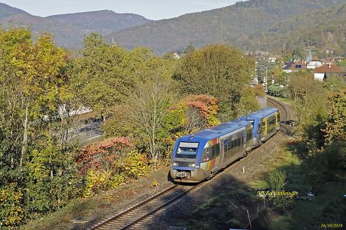 UM2 X73906-Alsace Saarland-X73659-Champagne Ardennes- TER 832809 Kruth-Thann St Jacques à Malmerspach