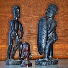 Statuettes Gabonaise