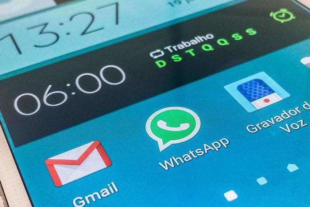 O Whatsapp já admitiu que nas eleições de 2018 houve o envio ilegal de mensagens massivas com notícias falsas - Créditos: Marcelo Casal Jr./Agência Brasil
