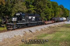 NS 3552 | EMD SD40-2 | NS Memphis District West End