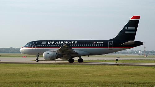 US Airways Airbus A319-112 N710UW