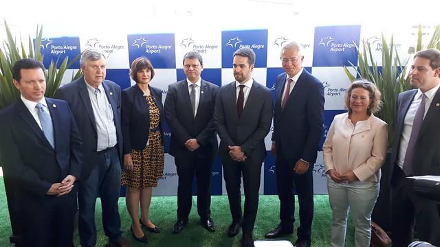 19/11/2019 Inauguração novo terminal Aeroporto de Porto Alegre