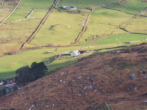 View of Carriag Original cottage from