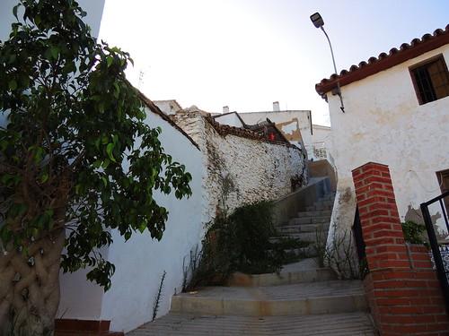 <Calle Subida  Cajiz (Málaga)>