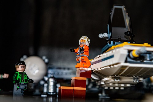 Exit the Y-Wing Starfighter