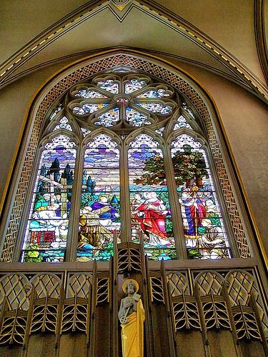 Helena Montana -  The Cathedral of Saint Helena - Stain Glass Window
