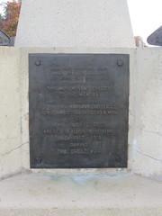 Pozières: Tank Corps Memorial (Somme)