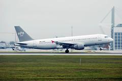 Sundair airplane taking off from Munich Airport