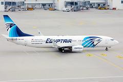 Egyptair Boeing B737 in Munich Airport