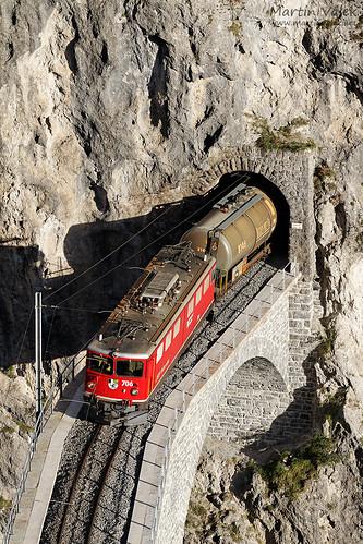 Ge 6/6 II 706 RhB, 5164, Landwasser Viaduct, Filisur - Alvaneu (Switzerland)