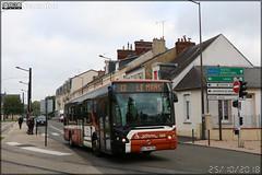 Irisbus Citélis 12 – Setram (Société d'Économie Mixte des TRansports en commun de l'Agglomération Mancelle) n°130