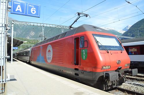 IC 1080 Brig - Basel SBB