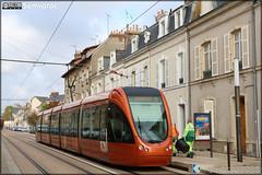 Alstom Citadis 302 – Setram (Société d'Économie Mixte des TRansports en commun de l'Agglomération Mancelle) n°1029 (Saint-Saturnin)