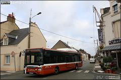 Iveco Bus Urbanway 12 CNG – Setram (Société d'Économie Mixte des TRansports en commun de l'Agglomération Mancelle) n°210