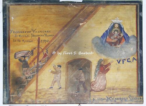 Villa di Briano (CE), 2005, Santuario della Madonna di Briano. Ex-Voto.