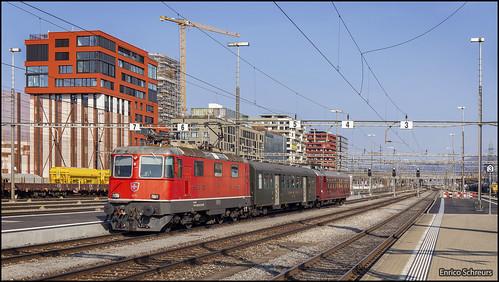 28 februari 2019 - SBB 11191 - Rotkreuz