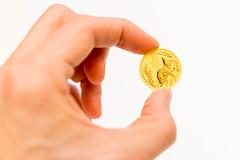 Coin collection - 1 Ounce Gold Coin Australia Lunar III Mouse 2020