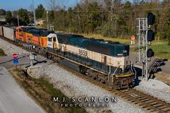 BNSF 9659 | EMD SD70MAC | NS Memphis District West End