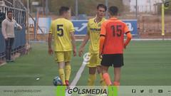 Cadetes. Villarreal CF 1-2 Torrent CF (23/11/2019), Jorge Sastriques