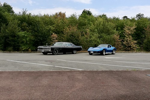 American cars in France