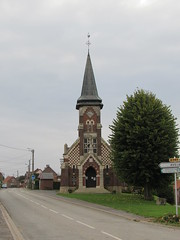Authuille: Église Saint-Fursy d'Authuille (Somme)