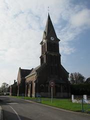 Pozières: Église Notre-Dame-de-l'Assomption de Pozières (Somme)