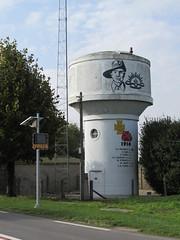 Pozières: The D929 (Somme)