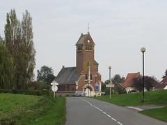 Thiepval: Église Saint-Martin à Thiepval(Somme)