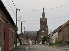 Aveluy: Église Saint Faire à Aveluy (Somme)
