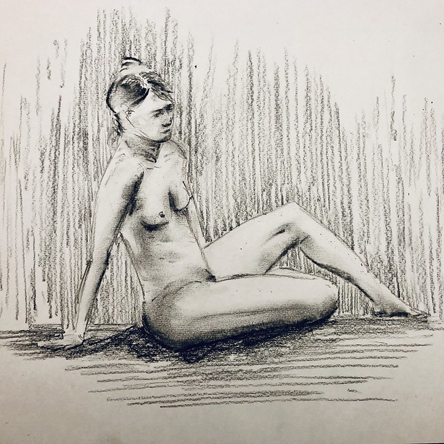 Life Drawing session 211119